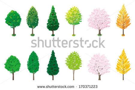 Roadside Tree Stock Vectors, Images & Vector Art.