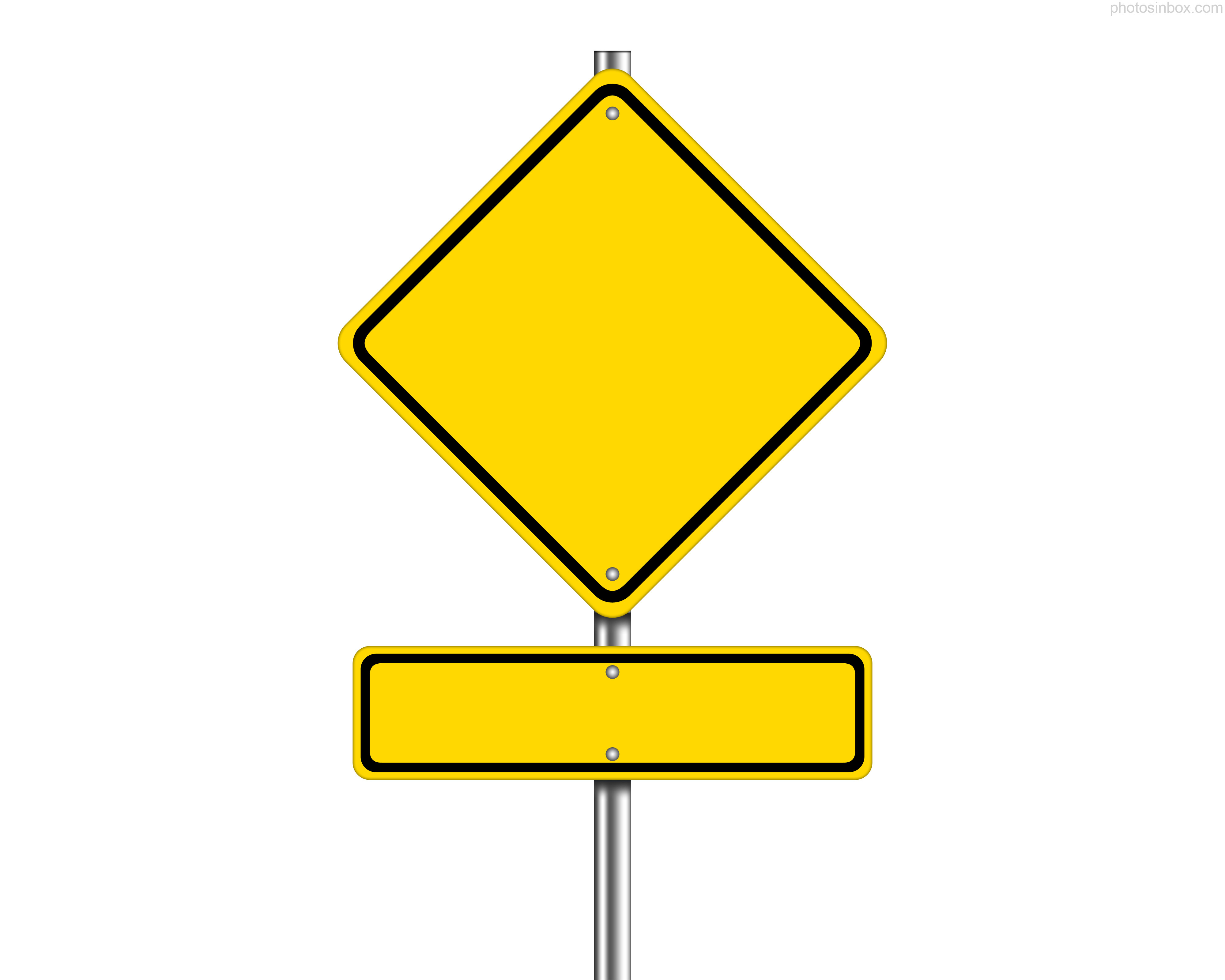 Road Sign Clipart.