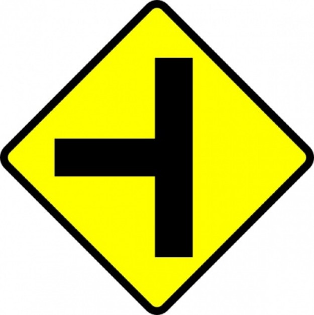 Road Signs Clipart.