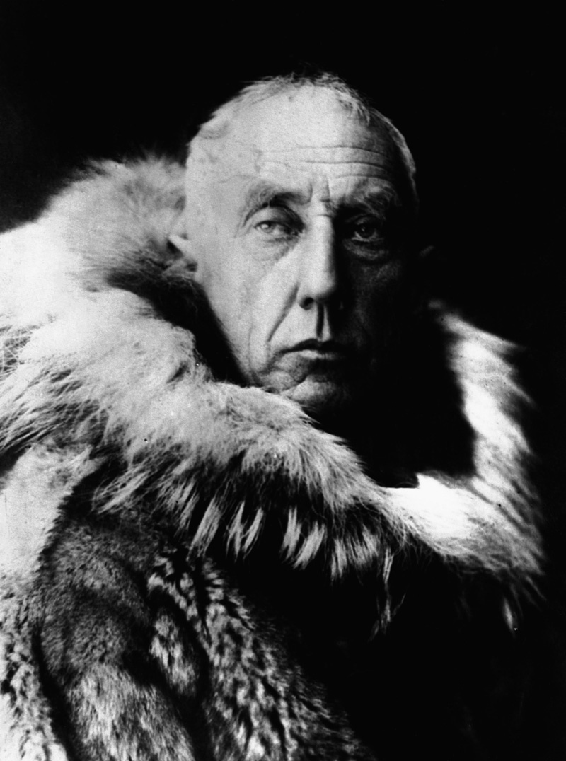Rare Portraits of Roald Amundsen. The First Person to Reach the.