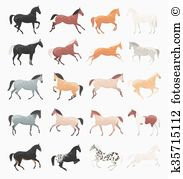 Roan Clip Art Vector Graphics. 10 roan EPS clipart vector and.