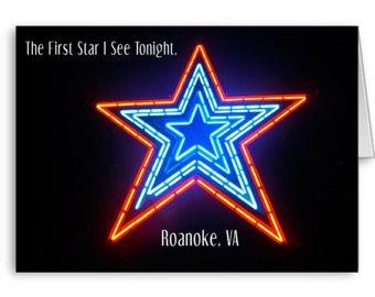 Roanoke star clipart #14