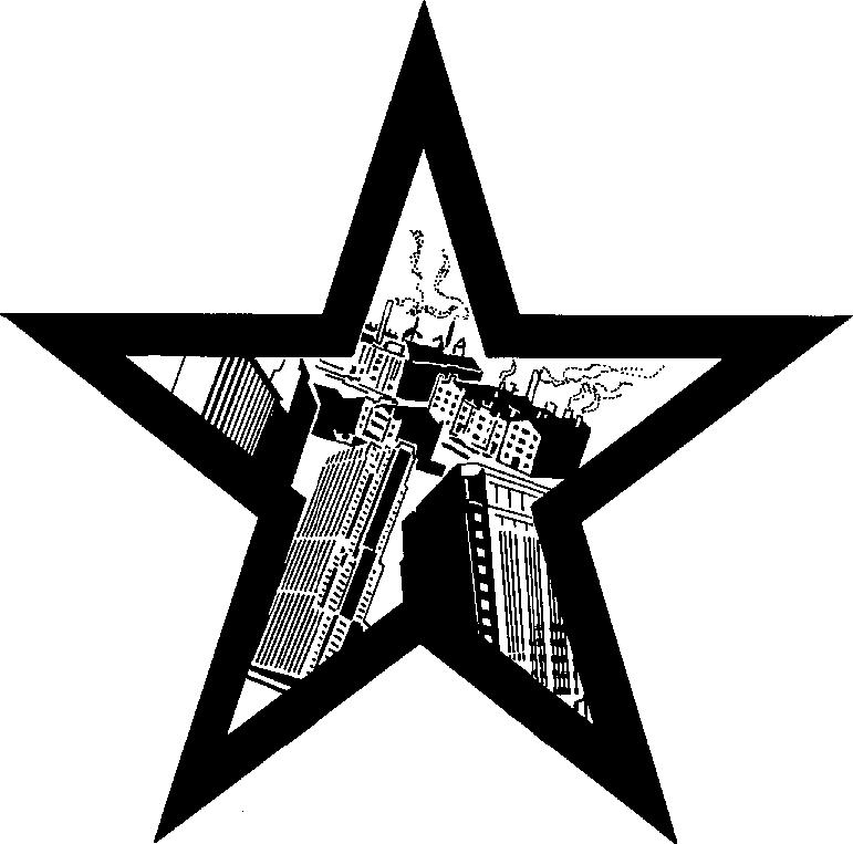 Star city clipart.