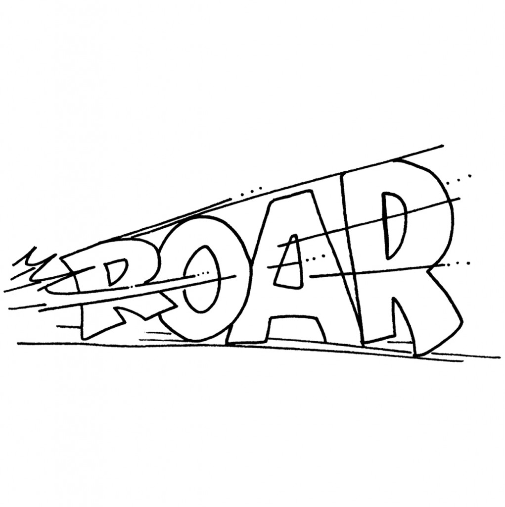 Roar Clip Art.