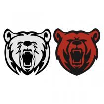 Roaring Bear SVG Cuttable Design.