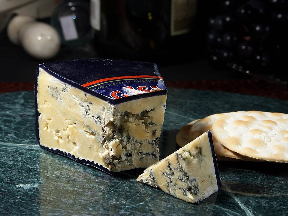 Free photo Blue Mold Mold Roaring Forties Blue Cheese.