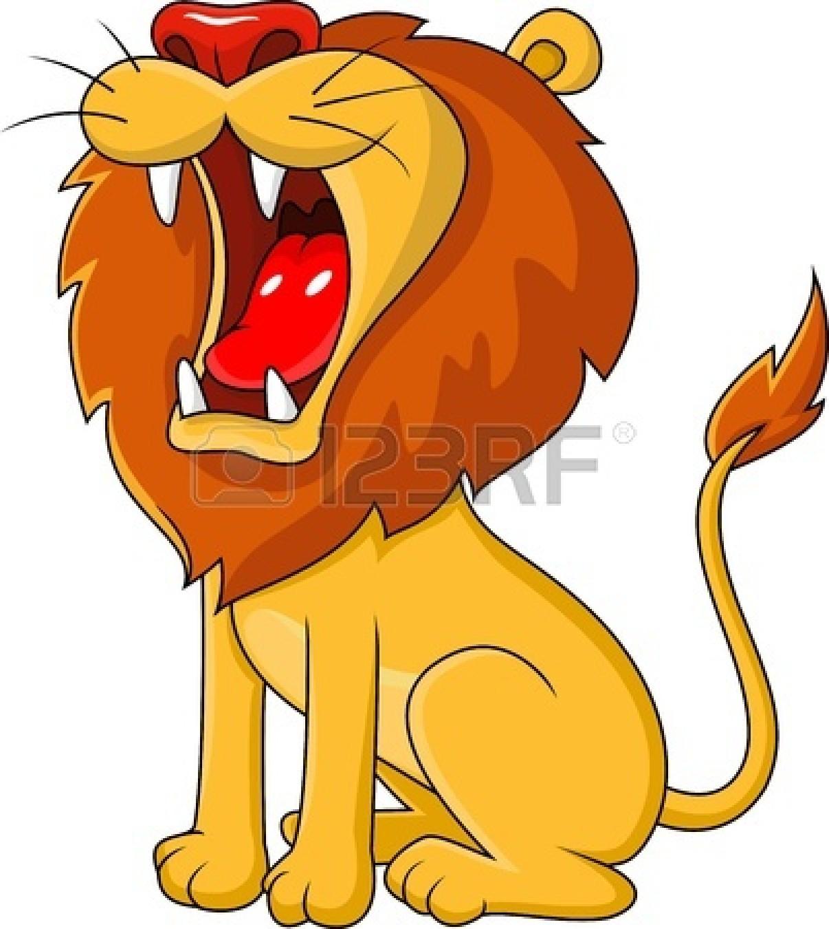 Roaring Lion Clipart.