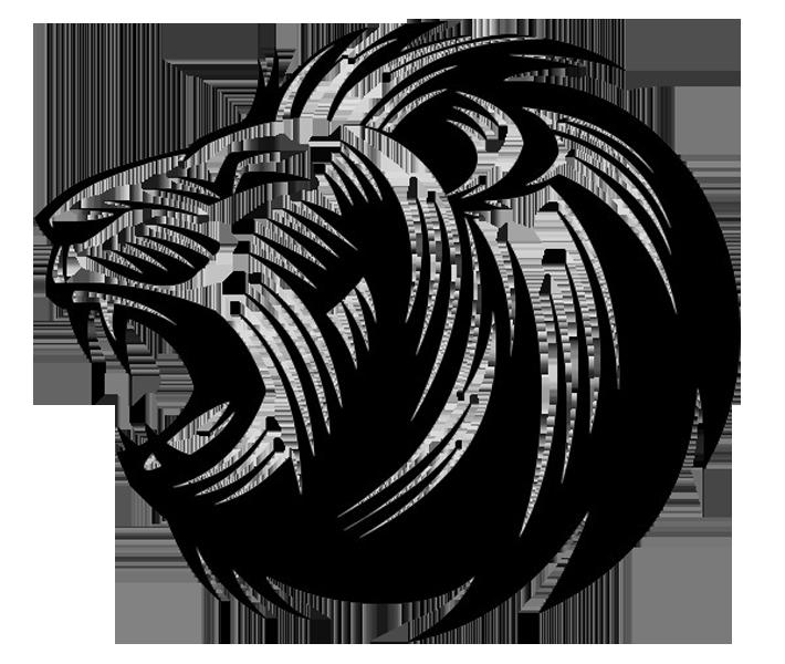 Lion\'s roar Silhouette Clip art.