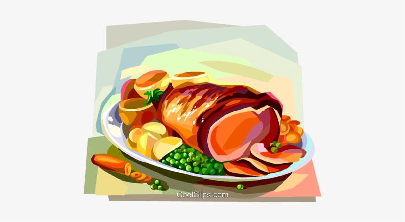 Roast Dinner Clipart Sunday Roast Roast Beef British.