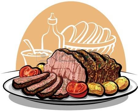 5,661 Roast Beef Stock Vector Illustration And Royalty Free Roast.