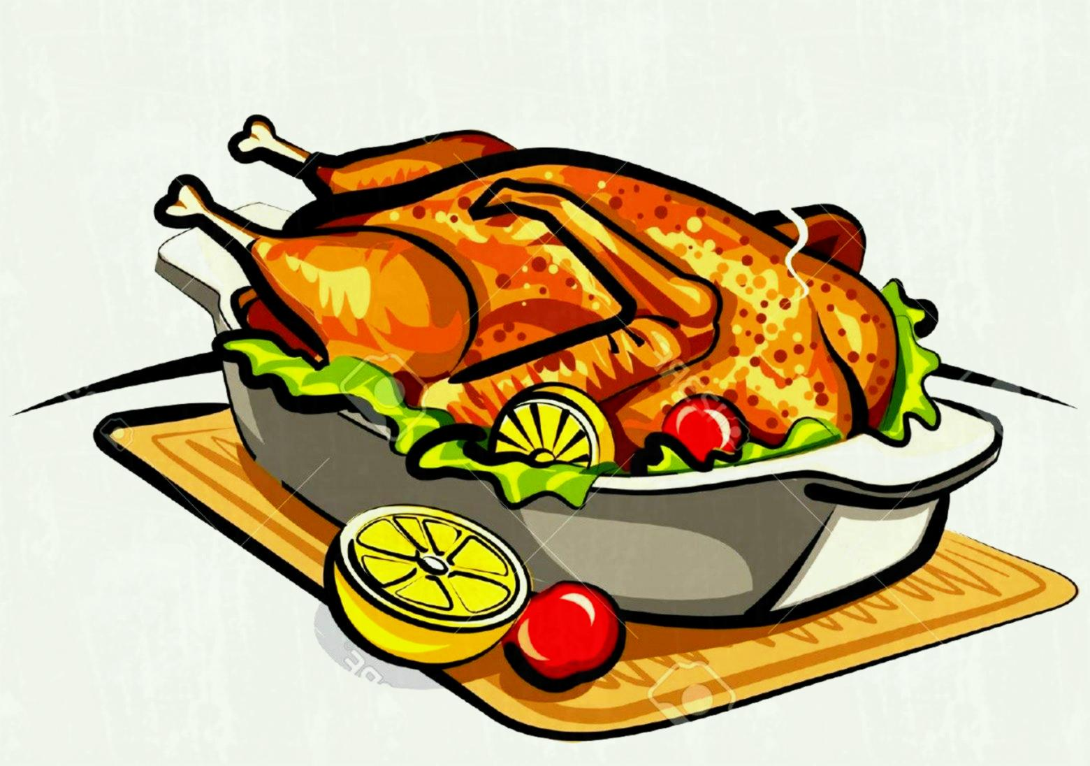 Roasted chicken clipart 1 » Clipart Station.