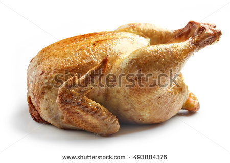 Whole Chicken Stock Images, Royalty.