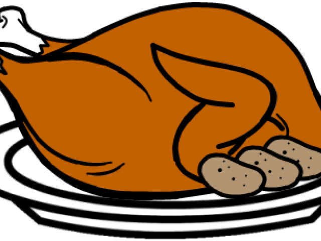 Roasted turkey clipart clipart images gallery for free.