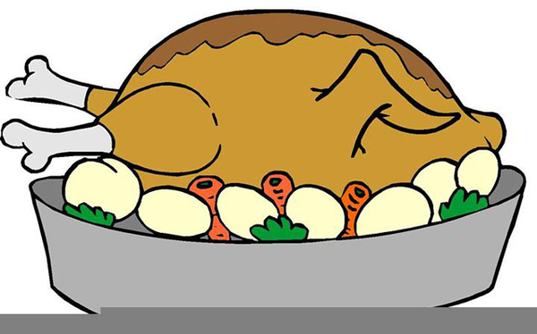 Roasted Turkey Clipart.