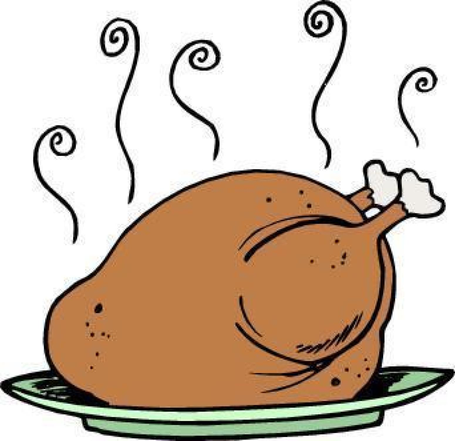 Cooked turkey roasted turkey clipart.