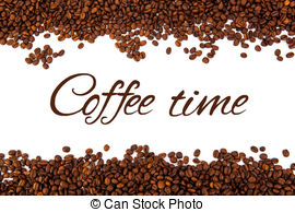 Roasted Coffee Beans Clip Art.