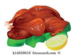 Roast duck Clip Art Vector Graphics. 225 roast duck EPS clipart.