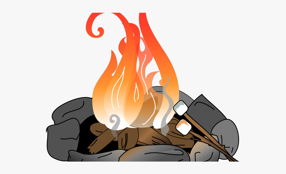 Campfire Clipart Toasted Marshmallow.