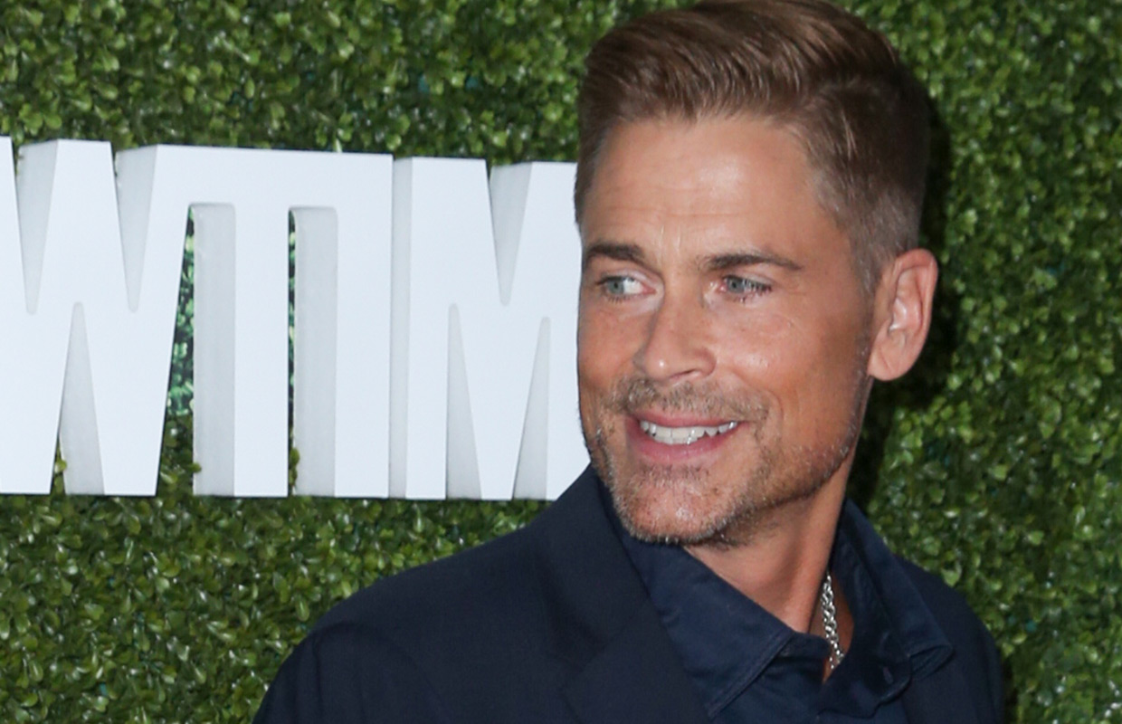 Rob Lowe is getting roasted.