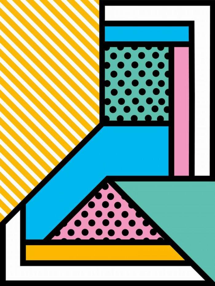 Rob Lowe AKA Supermundane Signs & Symbols exhibition.
