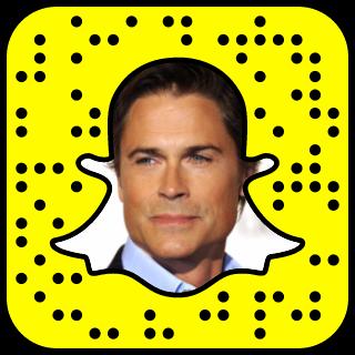 Rob Lowe Snapchat Username.