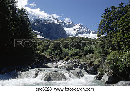 Pictures of The MATUKITUKI RIVER drains Mt. Roy & the ROB ROY.