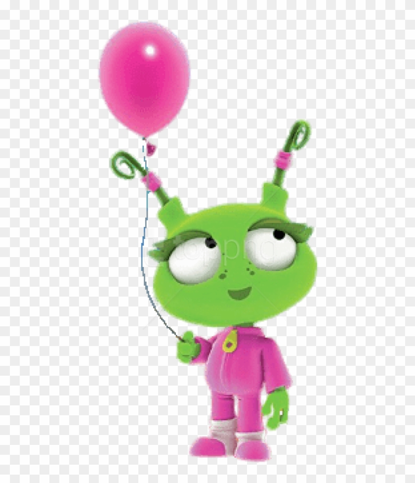 Free Png Download Ema Holding A Pink Balloon Clipart.
