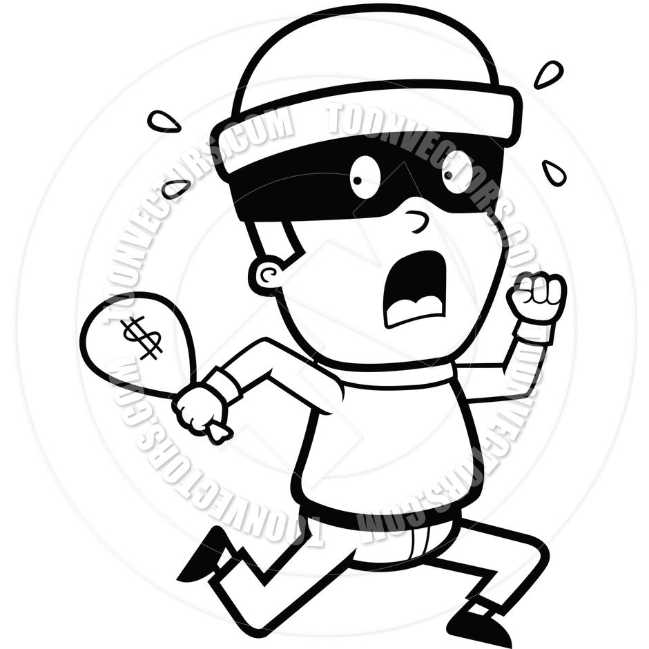 567 Thief free clipart.