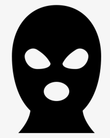 Robber Mask Png, Transparent Png.