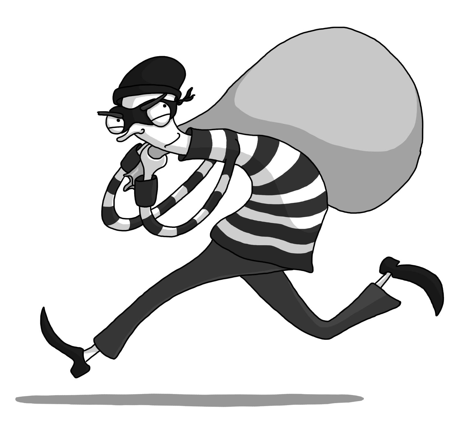 Robber PNG Photo Image.