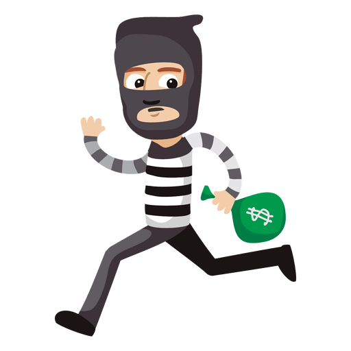 Robber PNG Clipart Background.