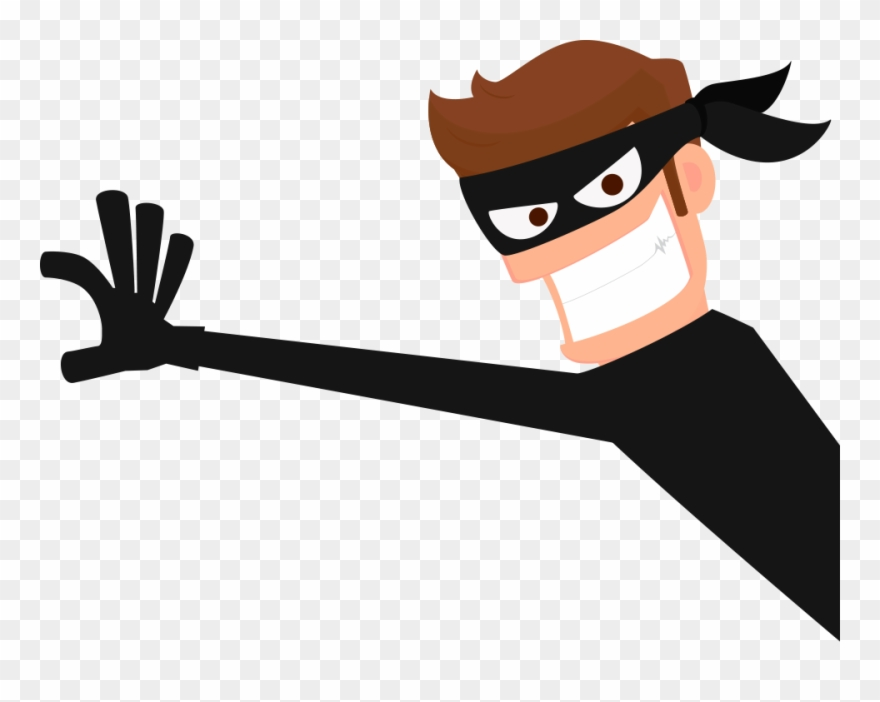 Clip Library Thief Robber Png Images.
