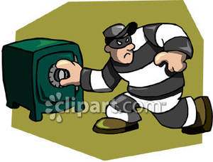 Clipart robber.