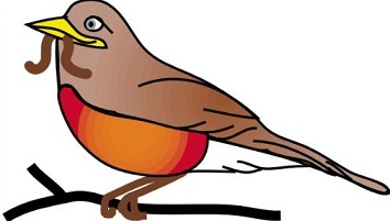 Free Robin Clipart.