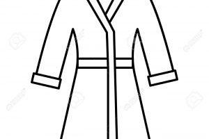 Robe clipart black and white 3 » Clipart Portal.