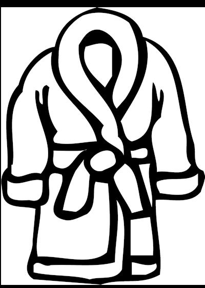 Robe 20clipart.