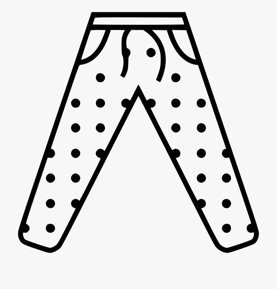 Pajama Pants Clipart 4 By Robert.