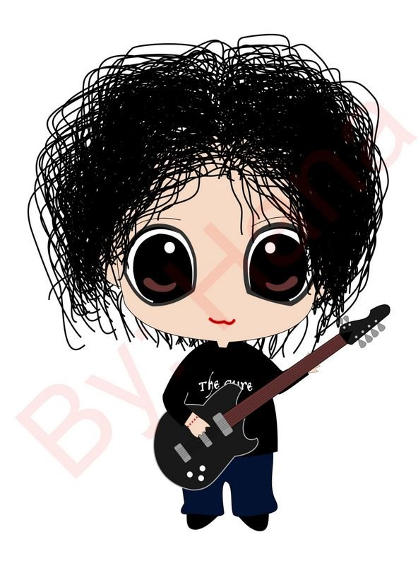 Robert Smith Chibi by BrunaHana on DeviantArt.