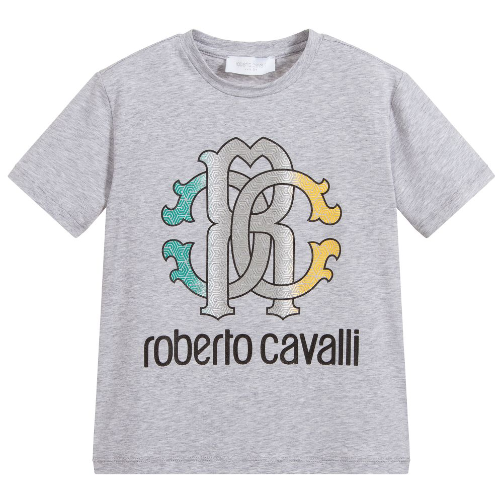 Boys Grey Cotton T.