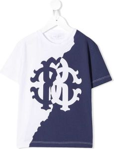 Roberto Cavalli Junior two tone logo T.