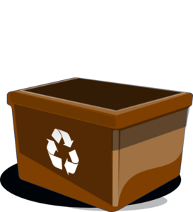 Recycle Bin Clip Art at Clker.com.