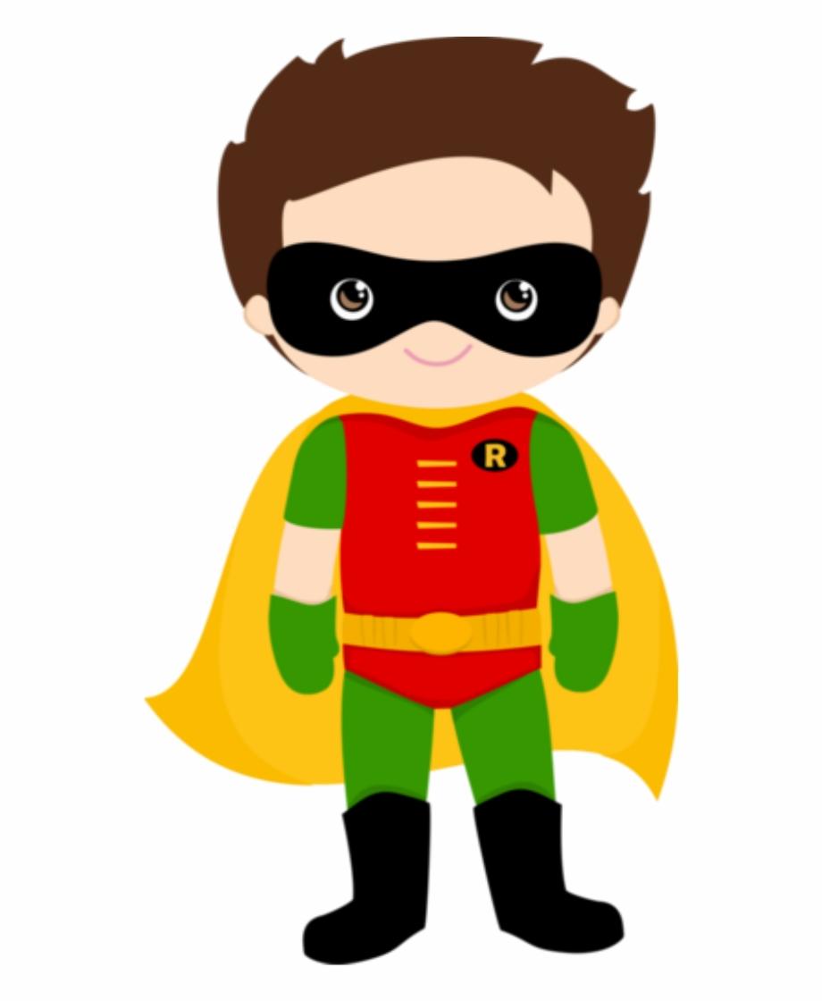 Robin Clipart Superhero.