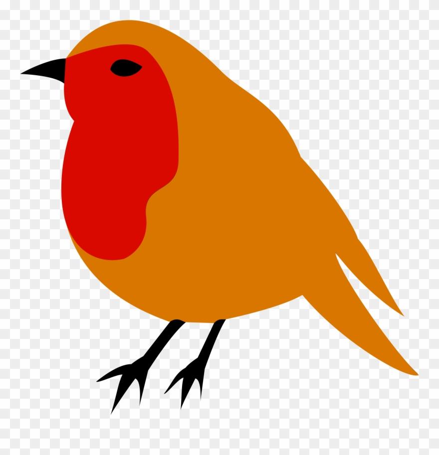 European Robin American Robin Bird Drawing Clip Art.