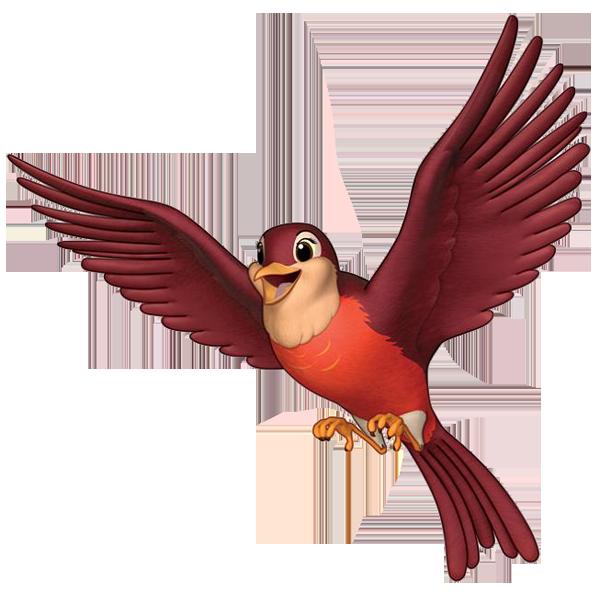Robin Logo Clipart.