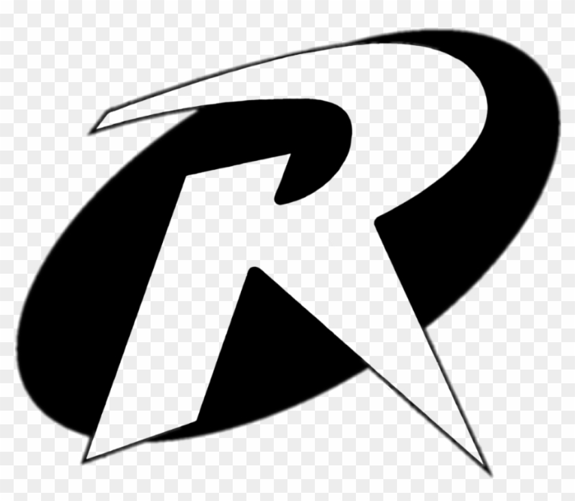 robinlogo #robin #logo #bw #dccomics #alienized #stickerart.
