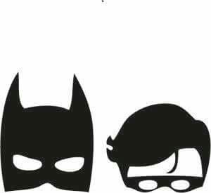 Batman And Robin Silhouette.