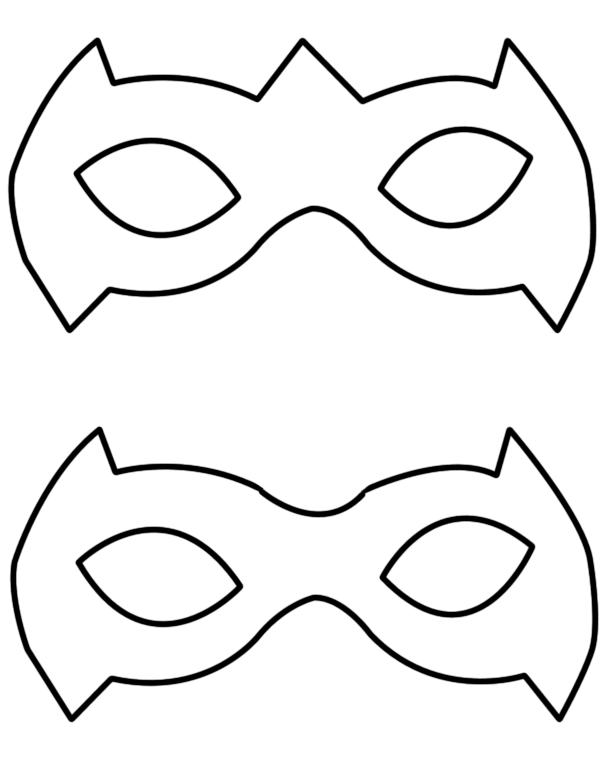Tutorial: A Simple Way To Make A Robin Superhero Mask.