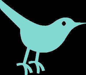 Robins Egg Twitter Bird Clip Art at Clker.com.