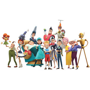 Free Disney Meet The Robinsons Clipart Images.