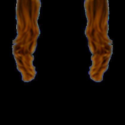 Brown Hair Extensions [Transparent].